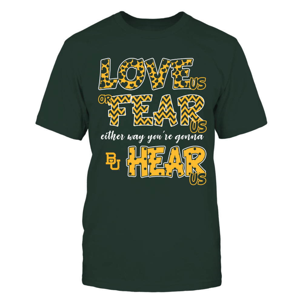 Baylor Bears - Love Us, Fear Us, Hear Us Front picture