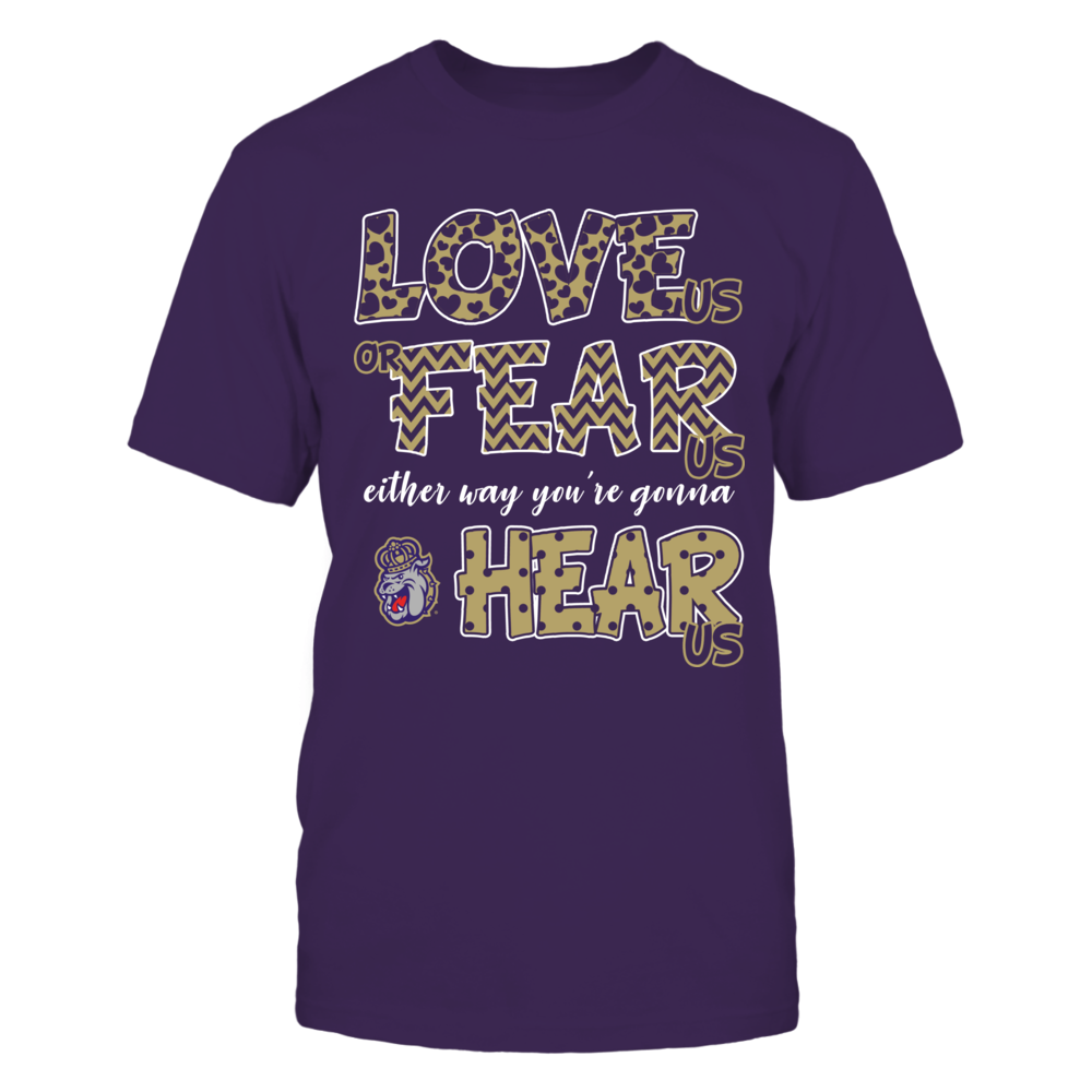 James Madison Dukes - Love Us, Fear Us, Hear Us Front picture