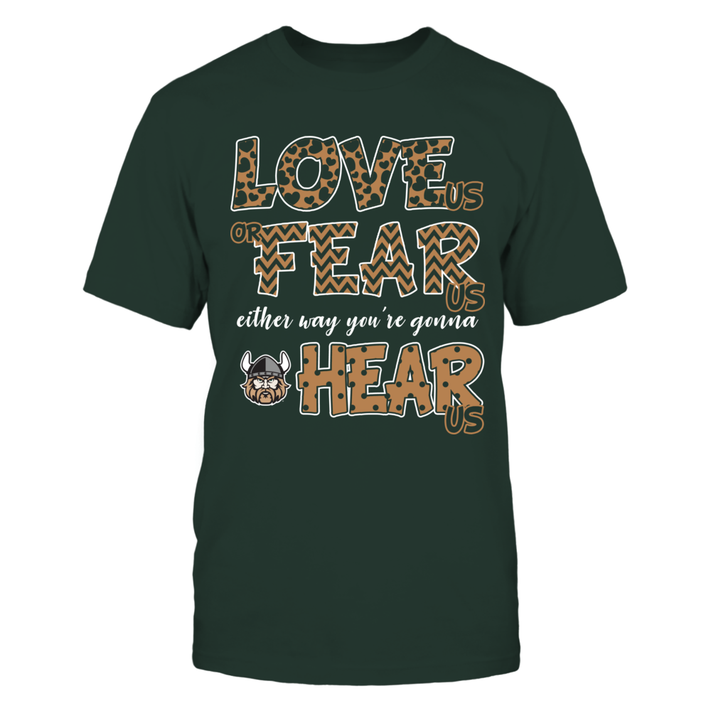 Cleveland State Vikings - Love Us, Fear Us, Hear Us Front picture