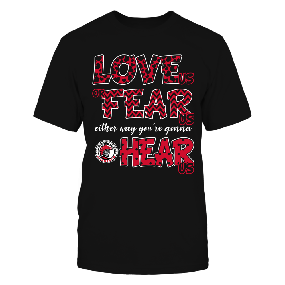 Tampa Spartans - Love Us, Fear Us, Hear Us Front picture