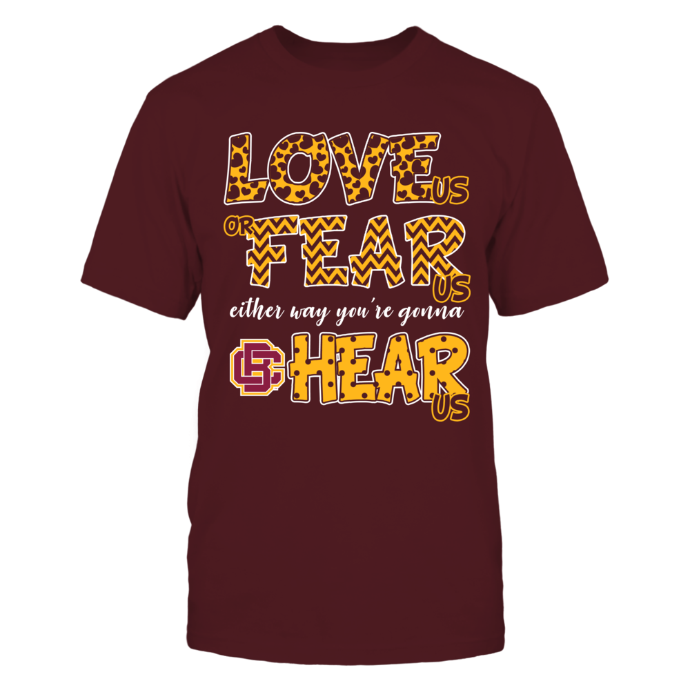 Bethune-Cookman Wildcats - Love Us, Fear Us, Hear Us Front picture