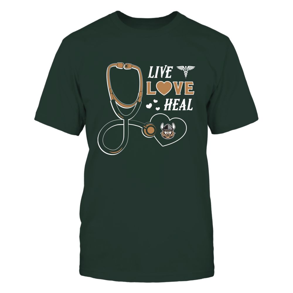 Cleveland State Vikings - Live Love Heal - Team Front picture