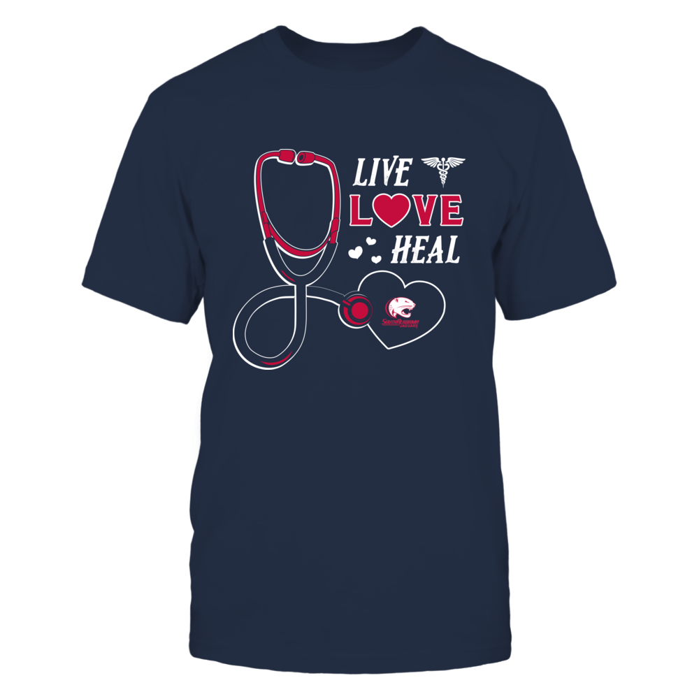 South Alabama Jaguars - Live Love Heal - Team Front picture