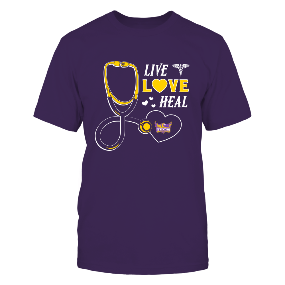 Tennessee Tech Golden Eagles - Live Love Heal - Team Front picture