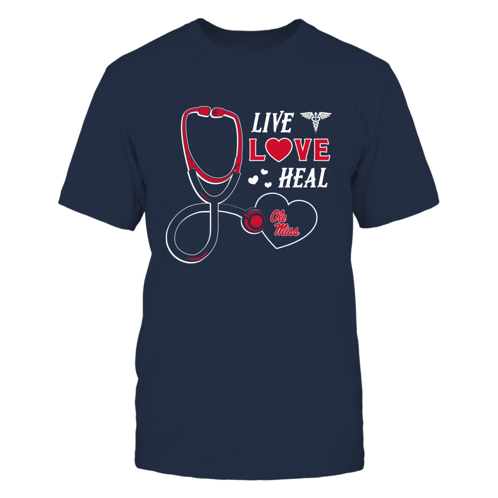 Ole Miss Rebels - Live Love Heal - Team Front picture