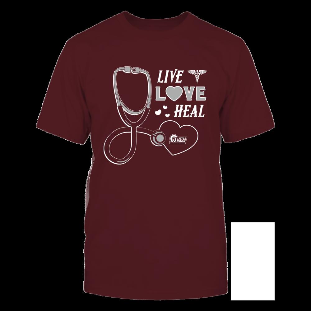 Arkansas Little Rock Trojans - Live Love Heal - Team Front picture