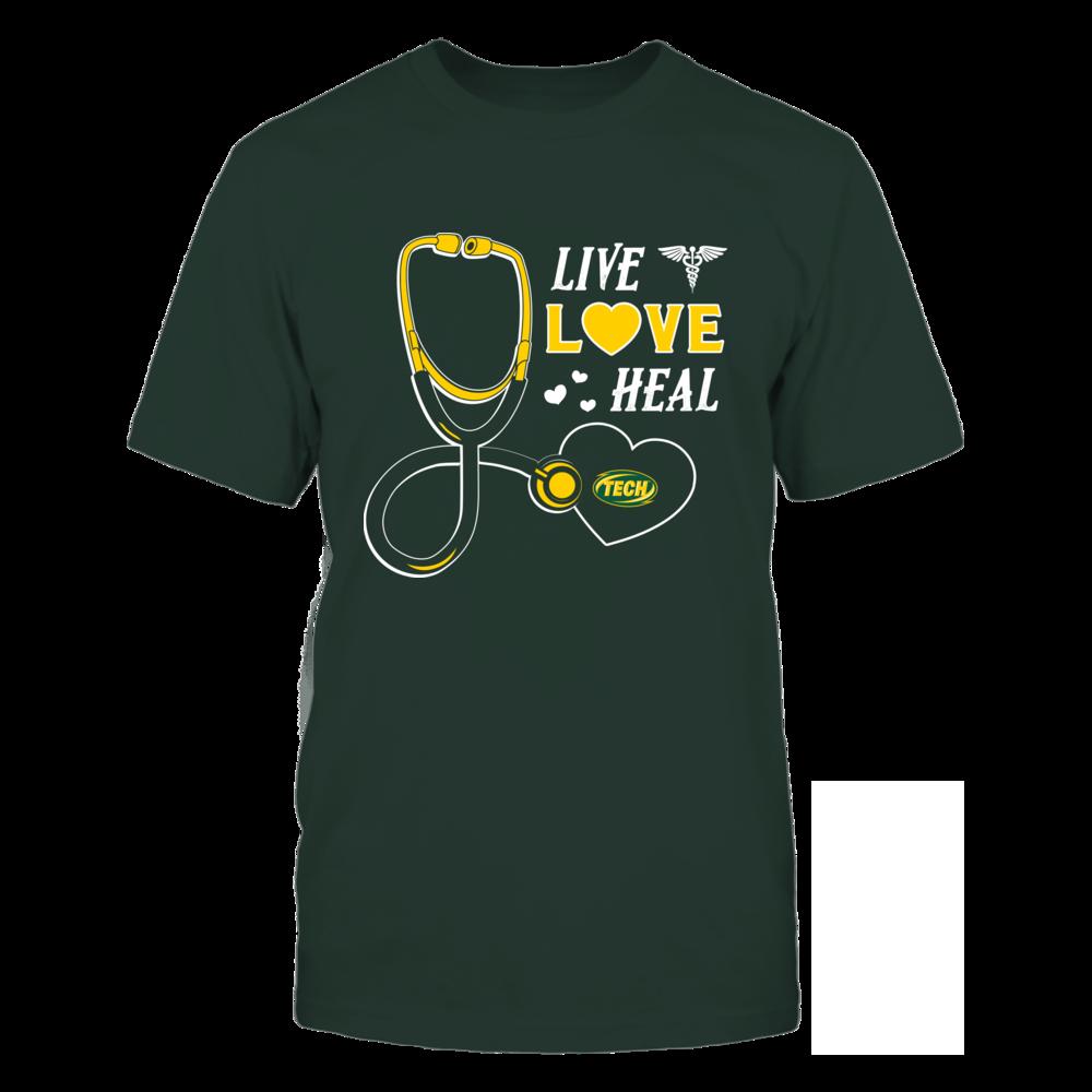 Arkansas Tech Golden Suns - Live Love Heal - Team Front picture