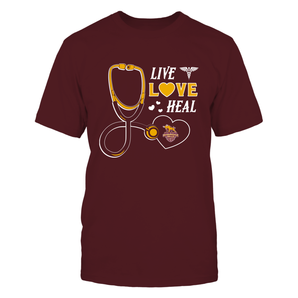 Cal State Dominguez Hills Toros - Live Love Heal - Team Front picture