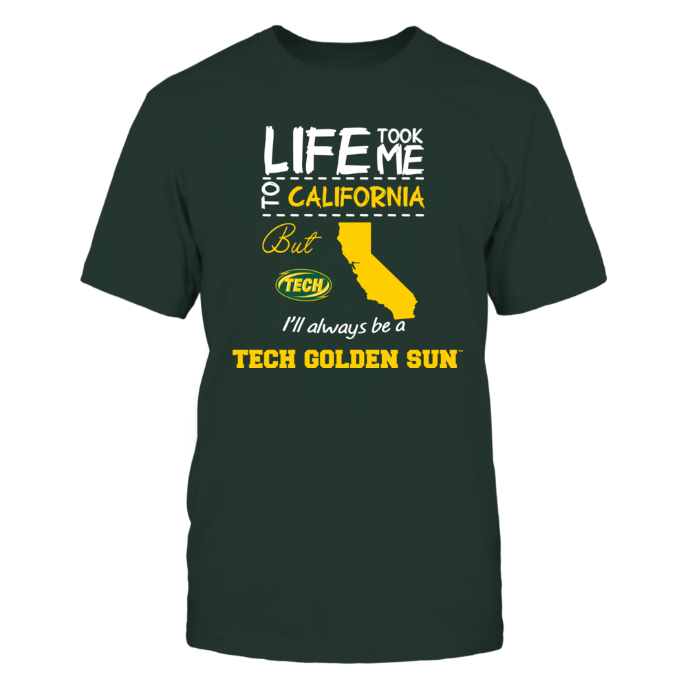 Arkansas Tech Golden Suns - Life Took Me To California - Team Front picture