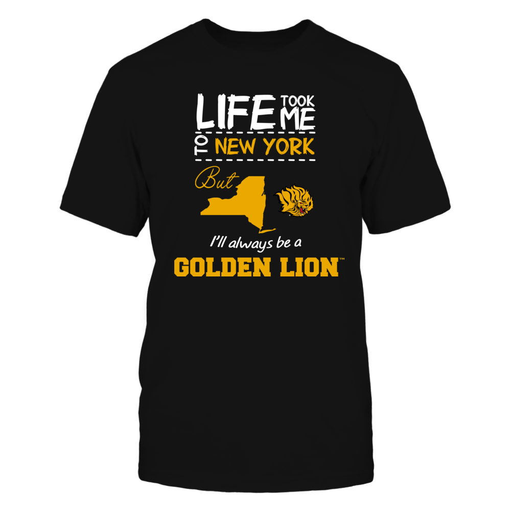 Arkansas Pine Bluff Golden Lions - Life Took Me To New York - Team Front picture