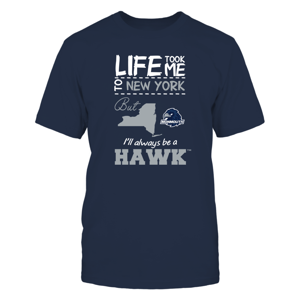 Monmouth Hawks - Life Took Me To New York - Team Front picture