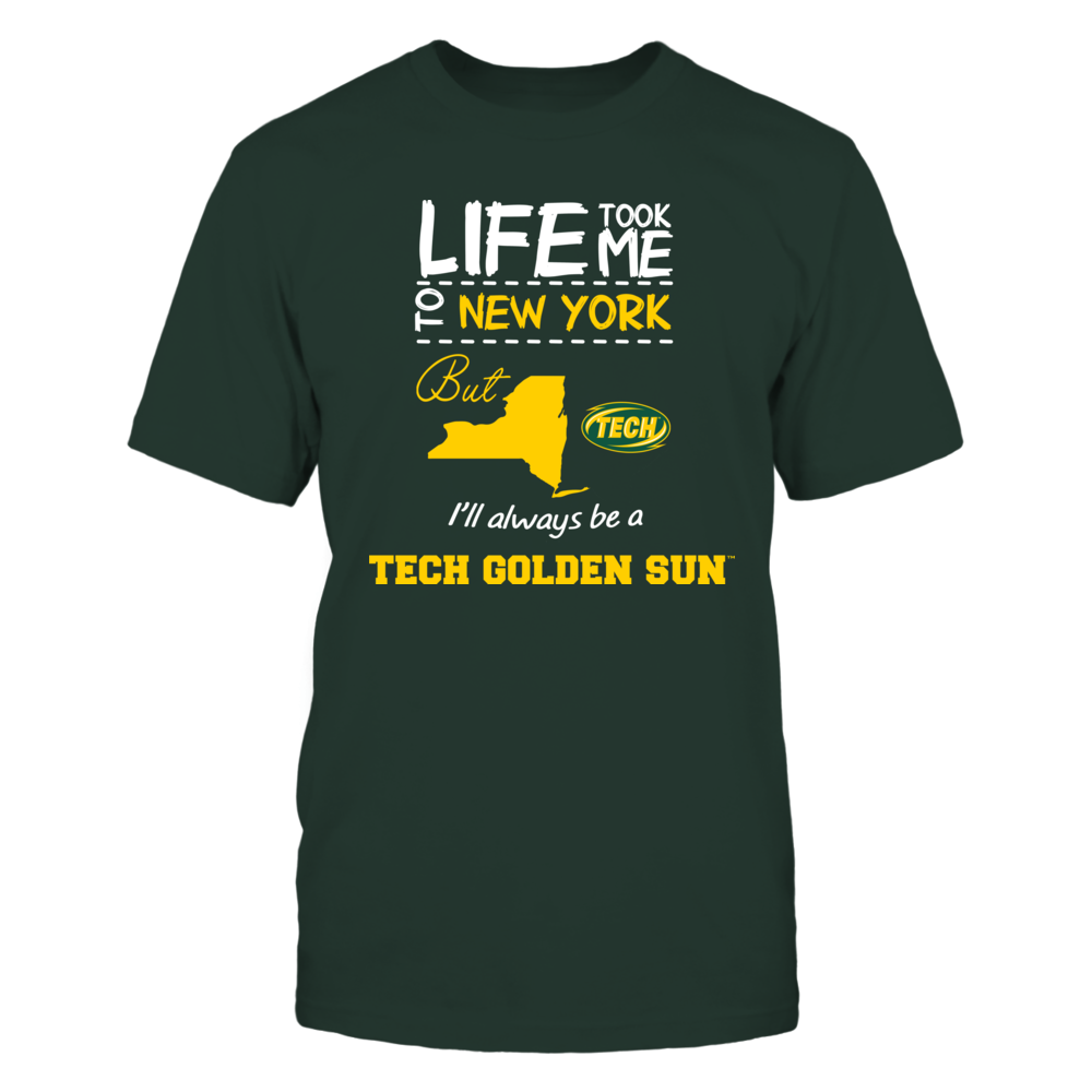 Arkansas Tech Golden Suns - Life Took Me To New York - Team Front picture
