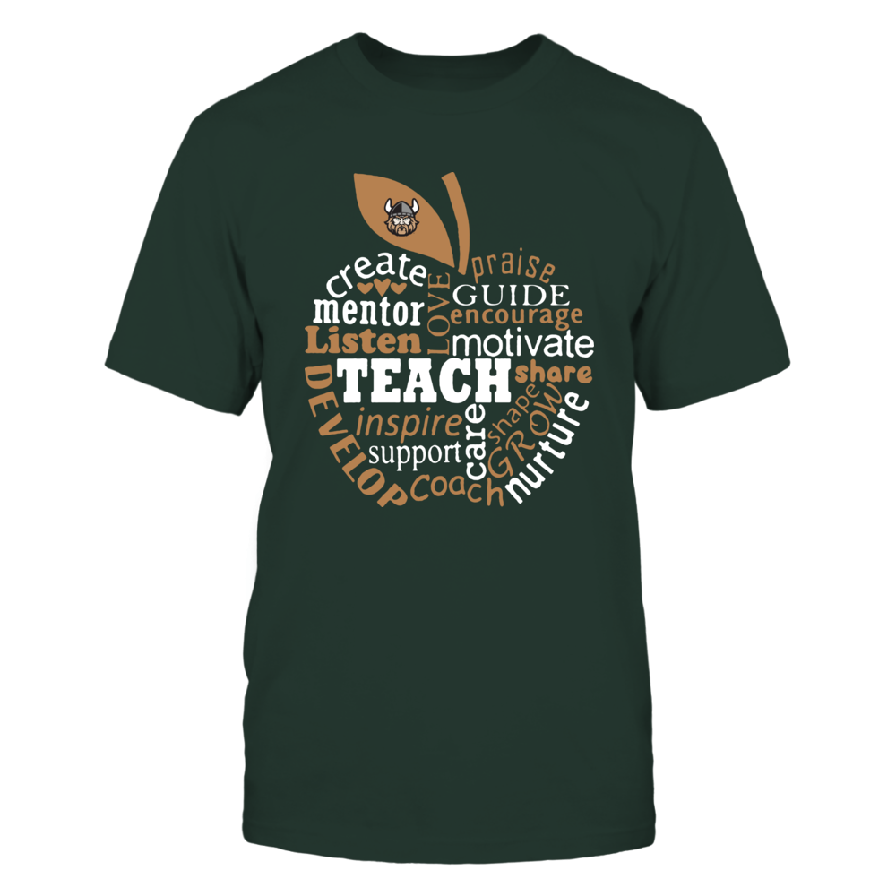 Cleveland State Vikings - Teacher - Teaching Quotes Inside Apple Front picture