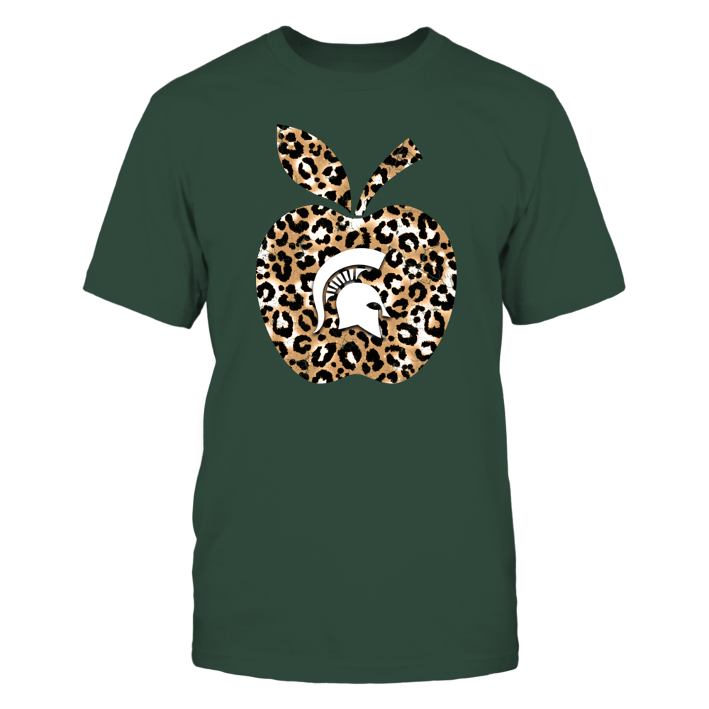 Michigan State Spartans - Teacher - Leopard Apple - IF17-IC17-DS37 Front picture