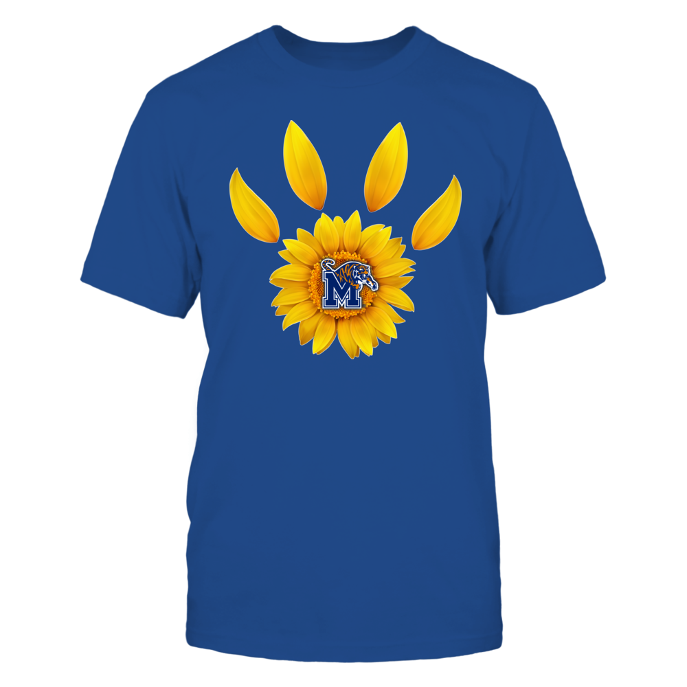Memphis Tigers - Sunflower Paw - IF32-IC32-DS27 Front picture