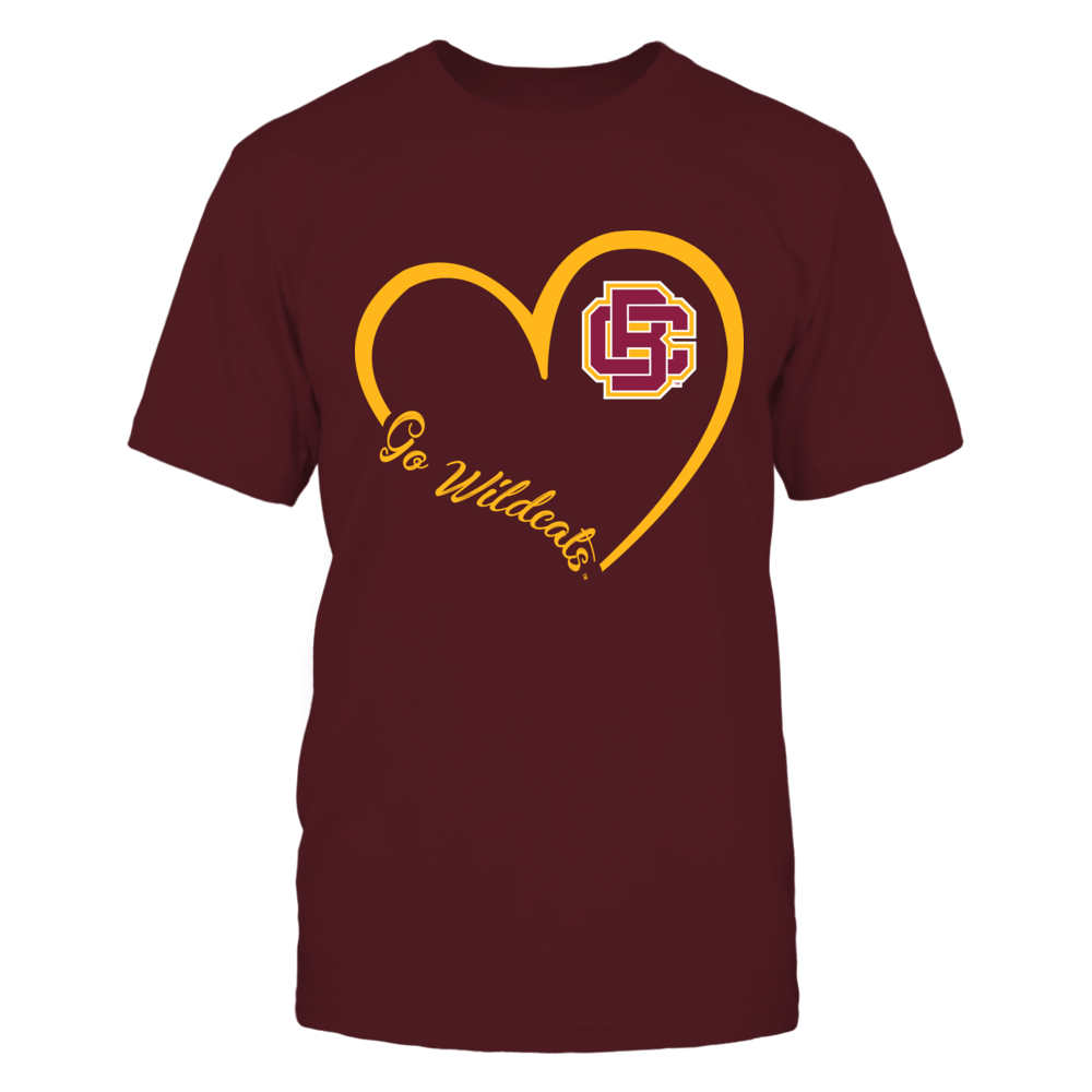 Bethune-Cookman Wildcats - Heart 3-4  - IF32-IC32-DS64 Front picture
