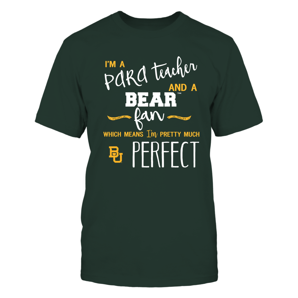 Baylor Bears - Perfect PARA Teacher - Team Front picture
