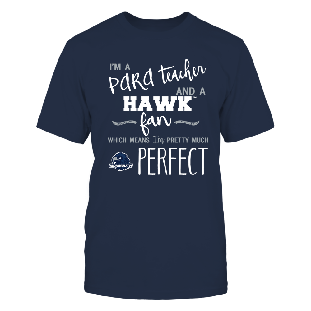 Monmouth Hawks - Perfect PARA Teacher - Team Front picture