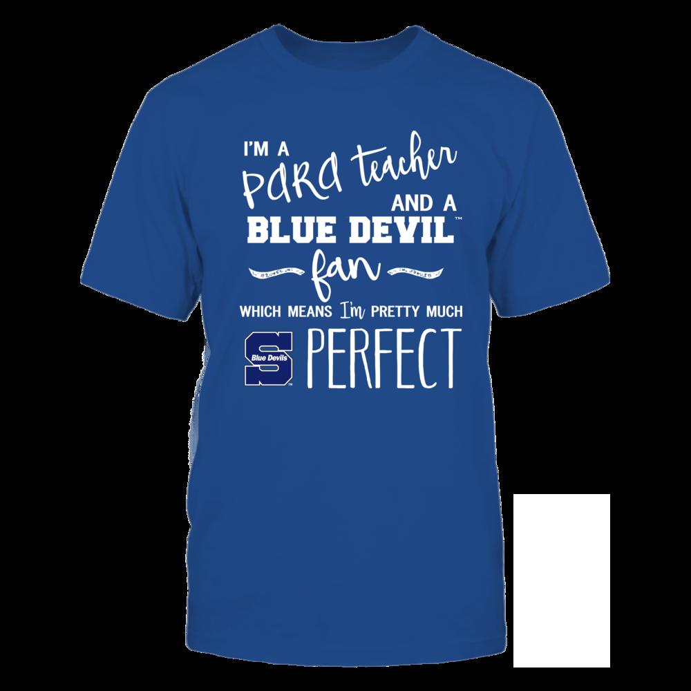 Wisconsin Stout Blue Devils - Perfect PARA Teacher - Team Front picture