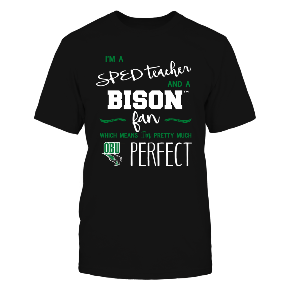 Oklahoma Baptist Bison - Perfect SPED Teacher - Team Front picture