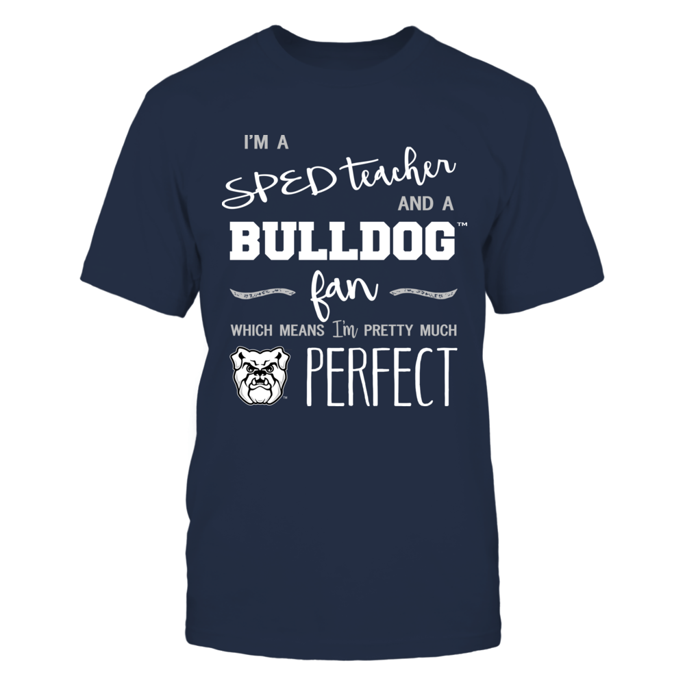 Butler Bulldogs - Perfect SPED Teacher - Team Front picture