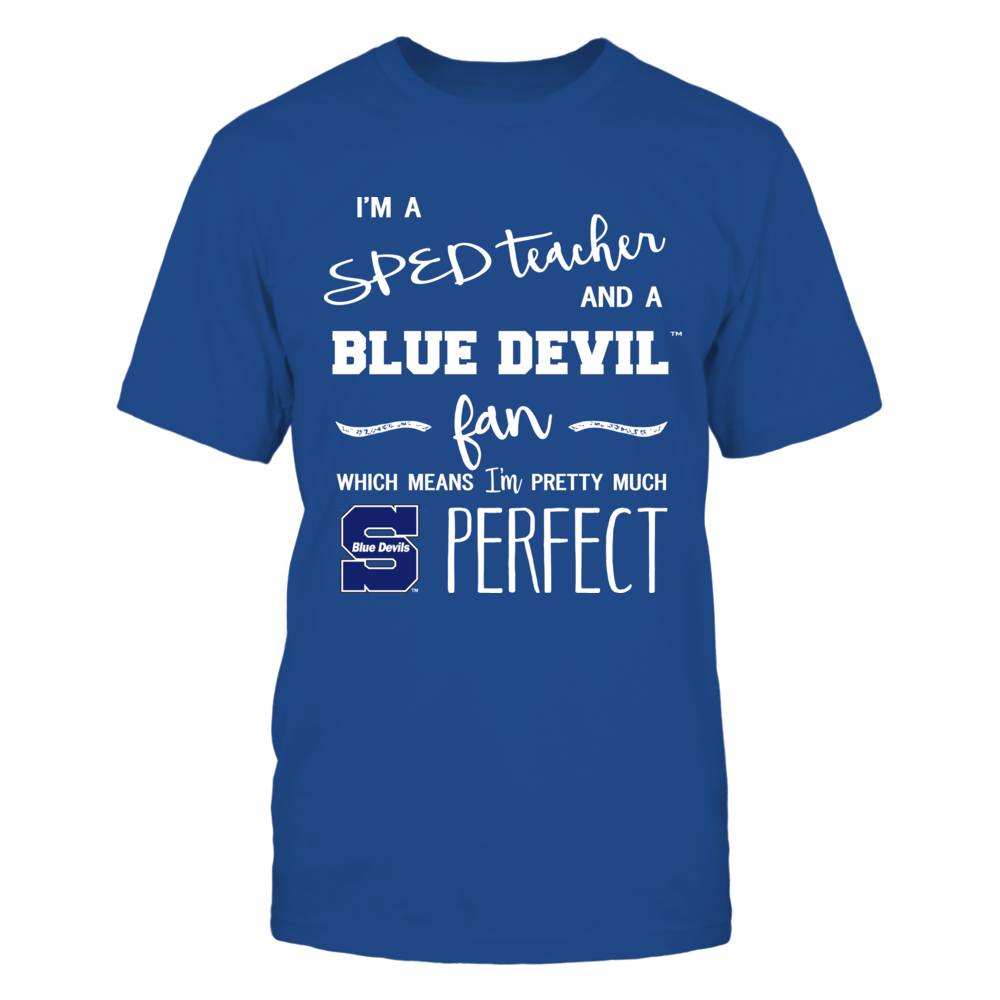 Wisconsin Stout Blue Devils - Perfect SPED Teacher - Team Front picture
