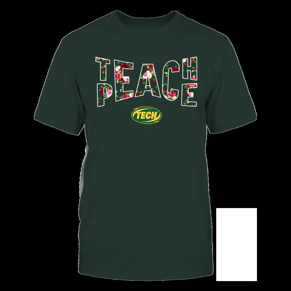 Arkansas Tech Golden Suns - Teach Peace Floral Pattern Front picture