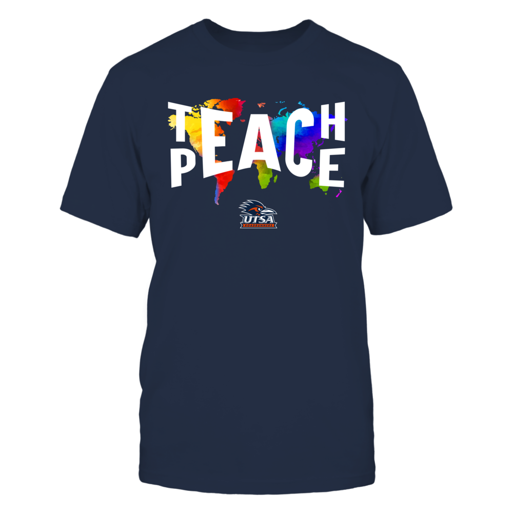UTSA Roadrunners - Teach Peace Color Drop Front picture