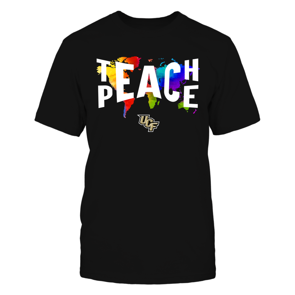 UCF Knights - Teach Peace Color Drop Front picture
