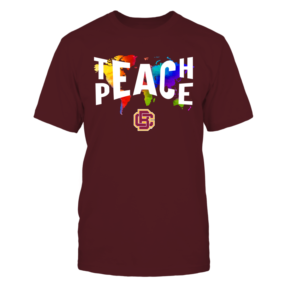 Bethune-Cookman Wildcats - Teach Peace Color Drop Front picture