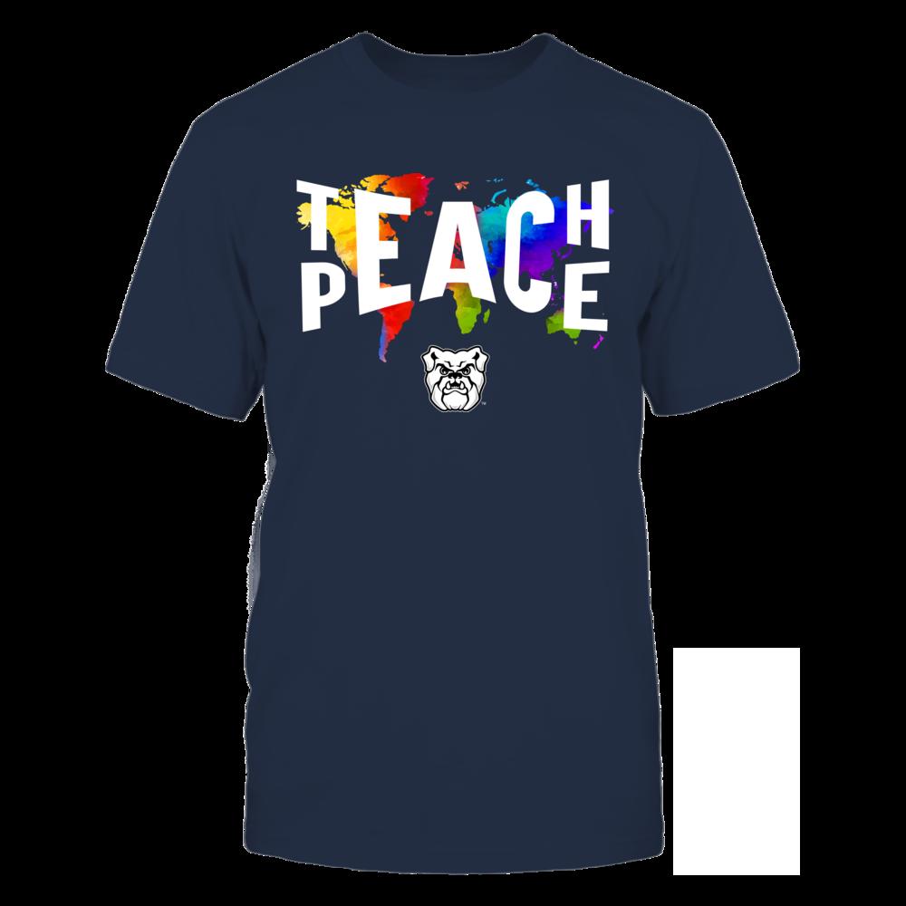 Butler Bulldogs - Teach Peace Color Drop Front picture