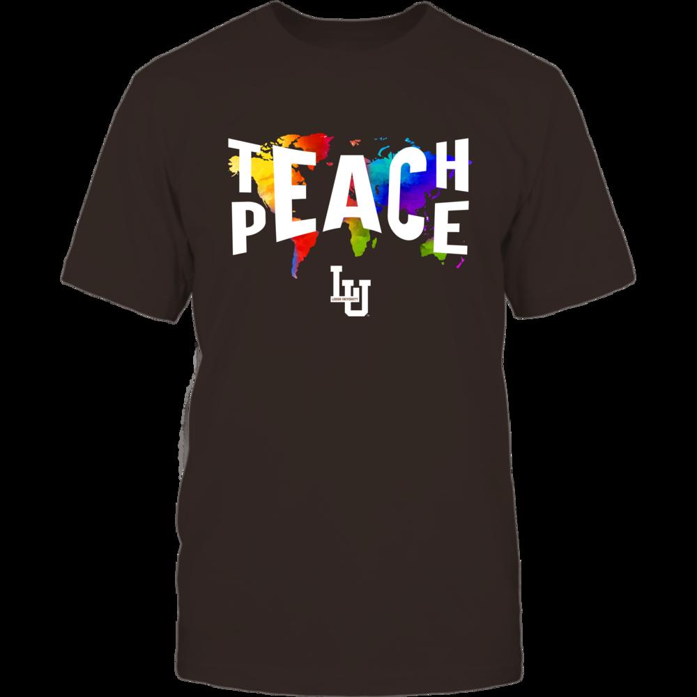 Lehigh Mountain Hawks - Teach Peace Color Drop Front picture