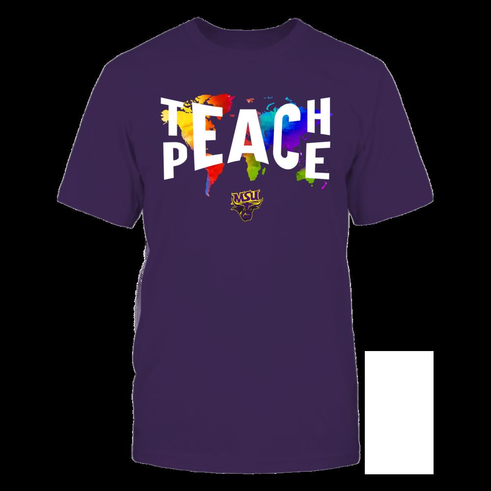 Minnesota State Mavericks - Teach Peace Color Drop Front picture