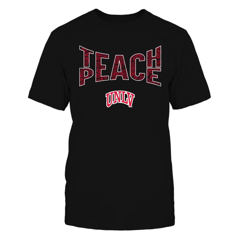UNLV Rebels - Teach Peace Paisley Pattern Front picture
