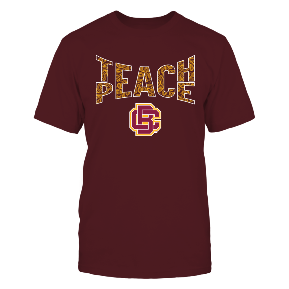 Bethune-Cookman Wildcats - Teach Peace Paisley Pattern Front picture