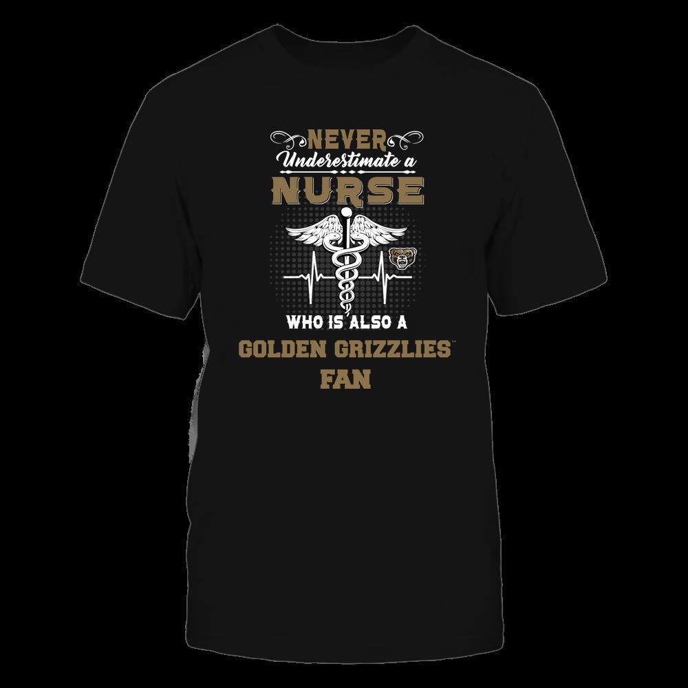 Oakland Golden Grizzlies - Never Underestimate Nurse - Team Front picture
