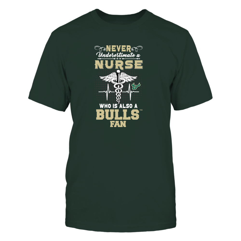 South Florida Bulls - Never Underestimate Nurse - Team Front picture