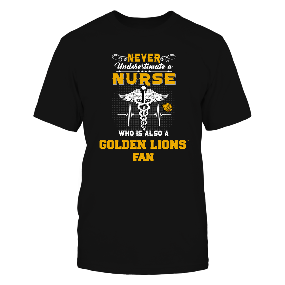 Arkansas Pine Bluff Golden Lions - Never Underestimate Nurse - Team Front picture