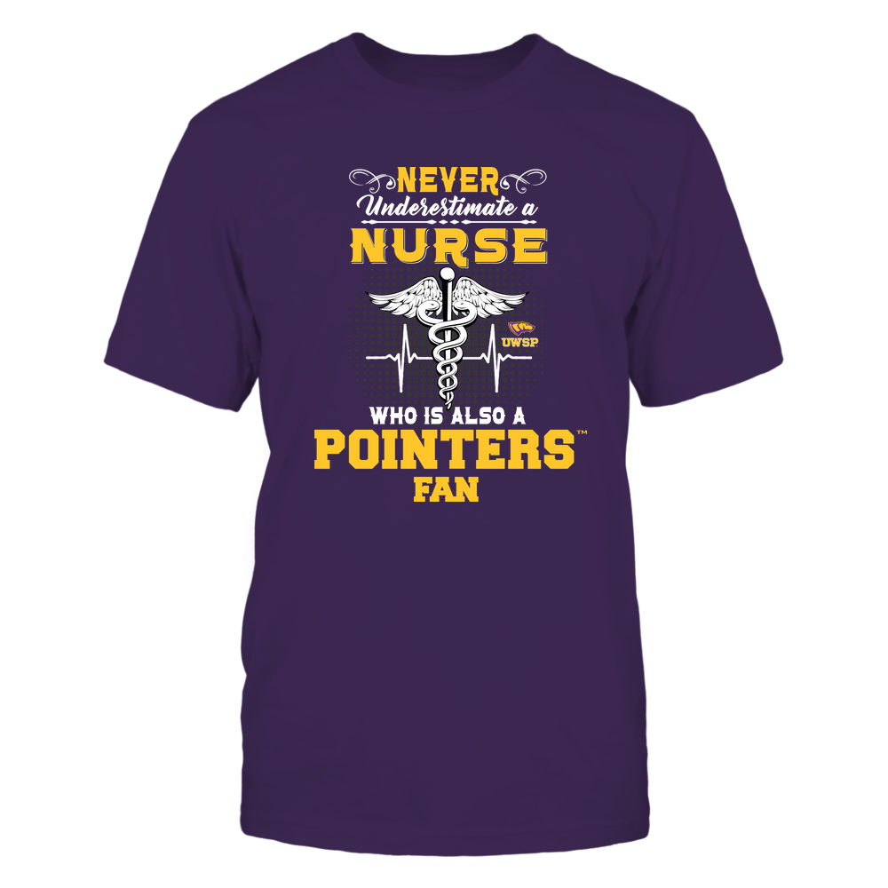 Wisconsin-Stevens Point Pointers - Never Underestimate Nurse - Team Front picture