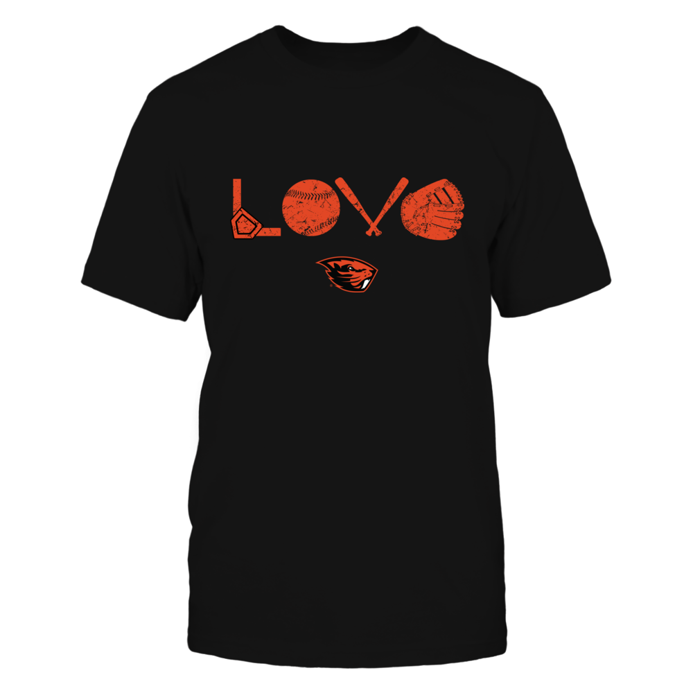 Oregon State Beavers - Love - Baseball Things - IF32-IC32-DS63 Front picture