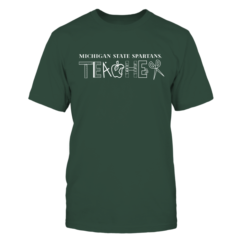 Michigan State Spartans - Teacher Logo - IF32-IC32-DS75 Front picture