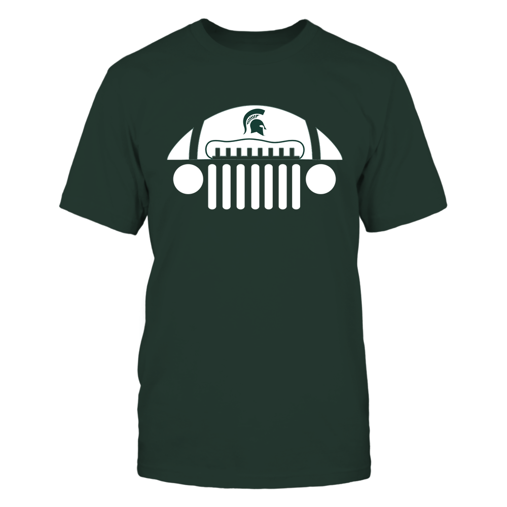 Michigan State Spartans - Jeep Football - IF32-IC32-DS27 Front picture