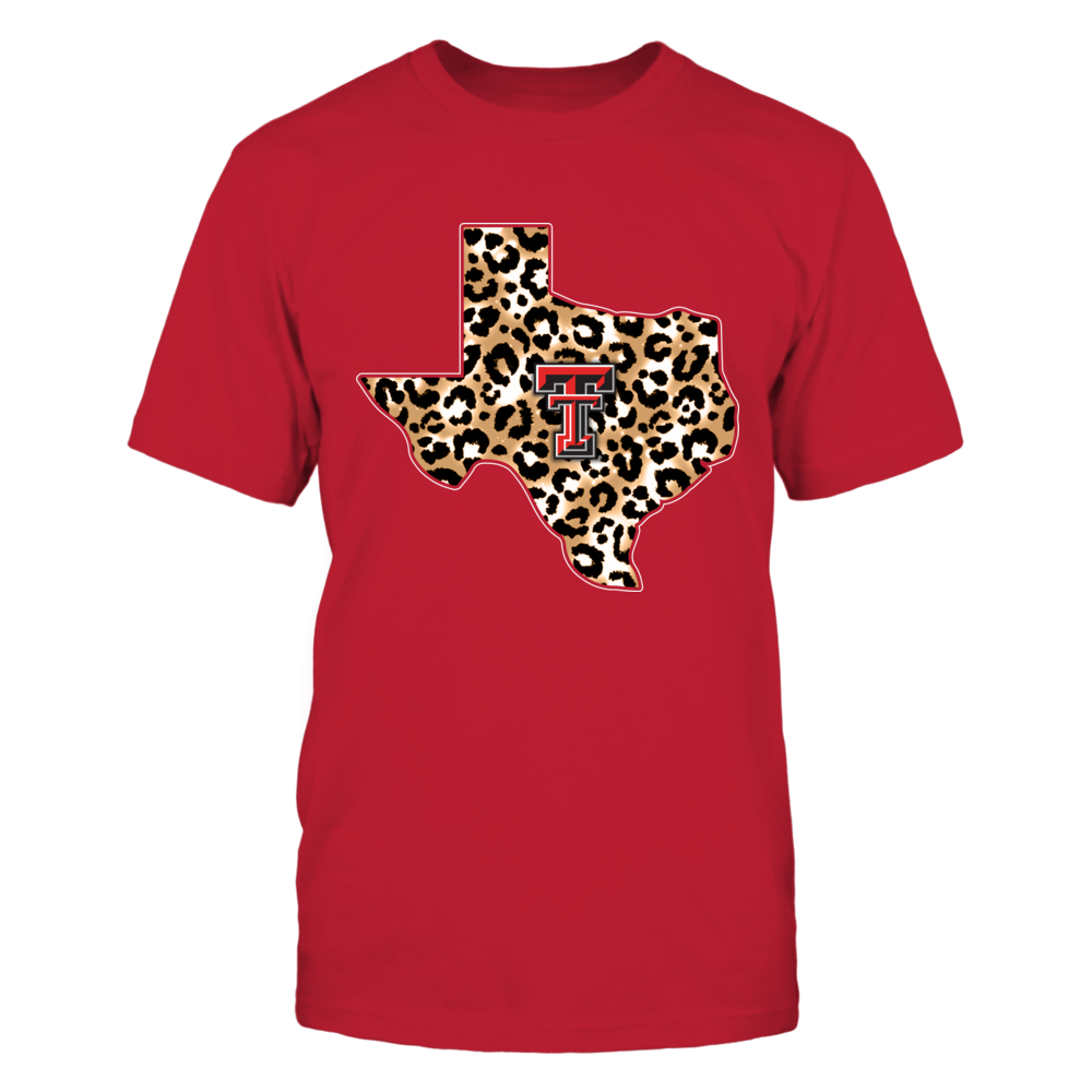 Texas Tech Red Raiders - Leopard State Map - IF13-IC13-DS37 Front picture