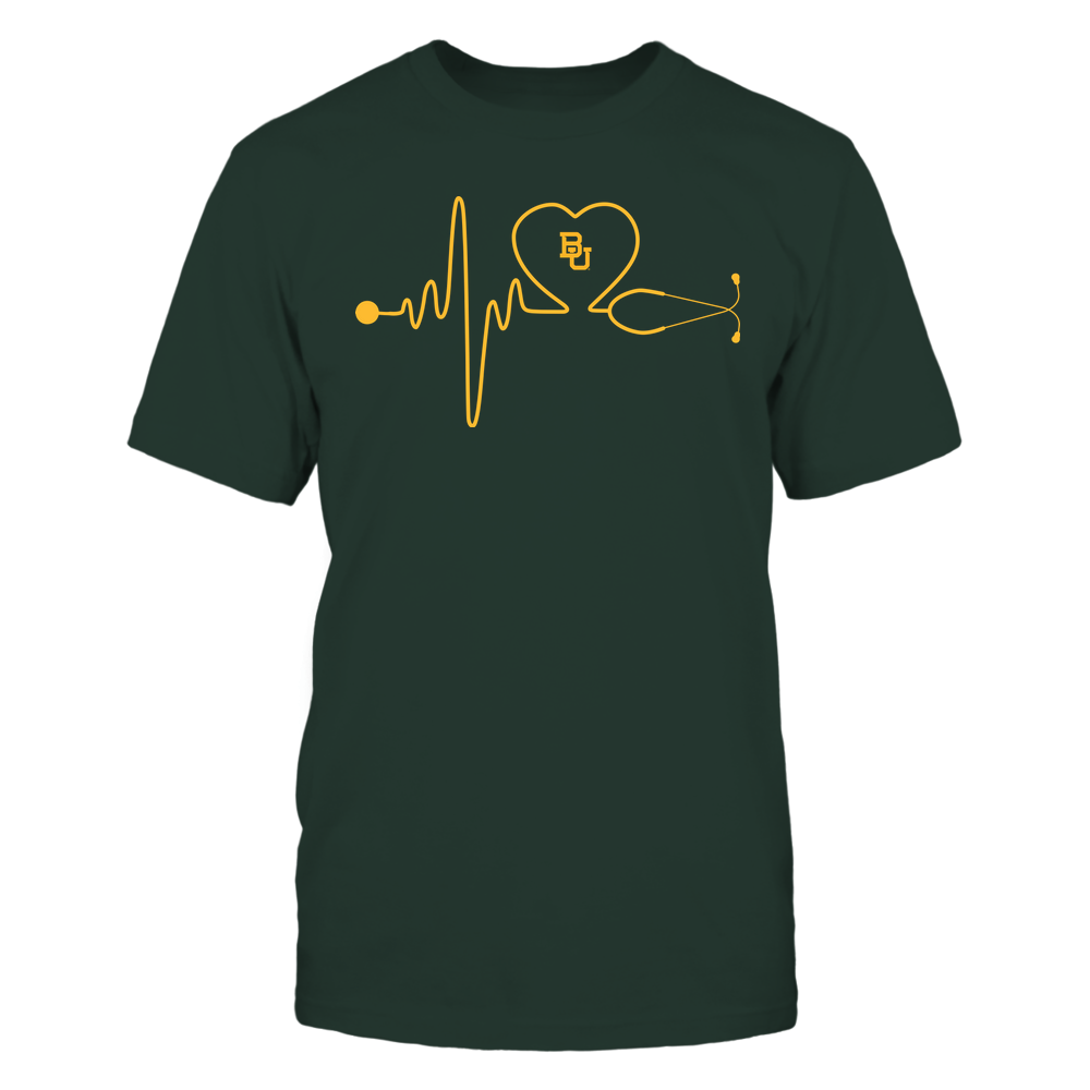 Baylor Bears - Nurse - Stethoscope Heartbeat - IF13-IC13-DS37 Front picture