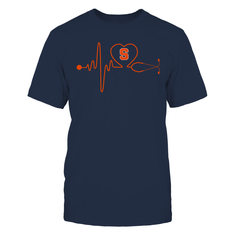Syracuse Orange - Nurse - Stethoscope Heartbeat - IF13-IC13-DS37 Front picture