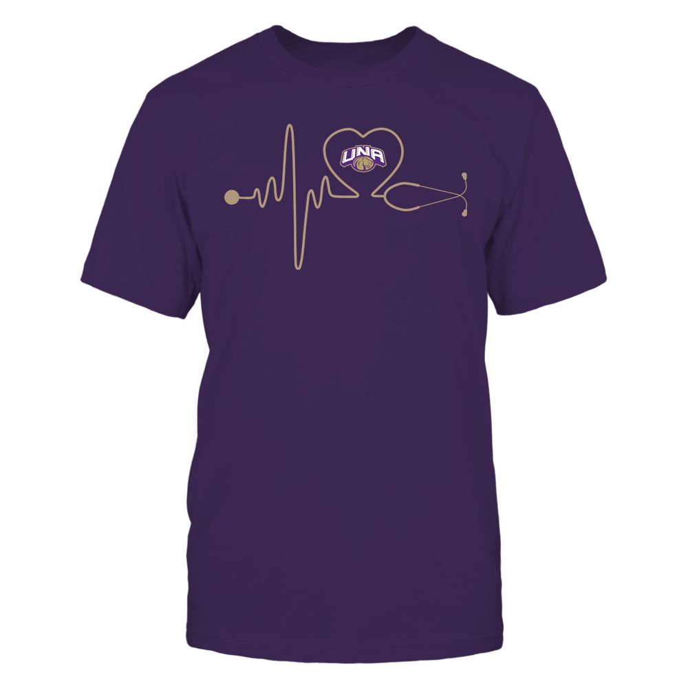 North Alabama Lions - Nurse - Stethoscope Heartbeat - IF13-IC13-DS37 Front picture