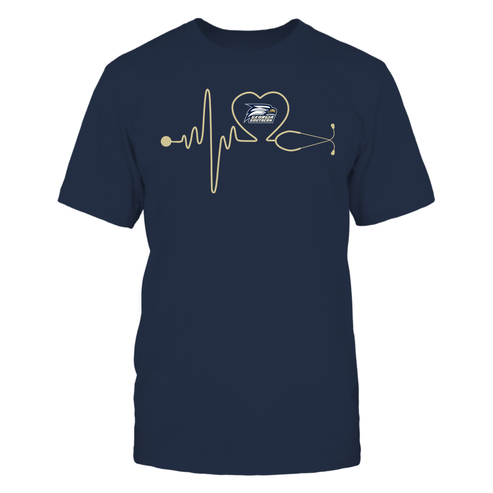 Georgia Southern Eagles - Nurse - Stethoscope Heartbeat - IF-IC13-DS83 Front picture