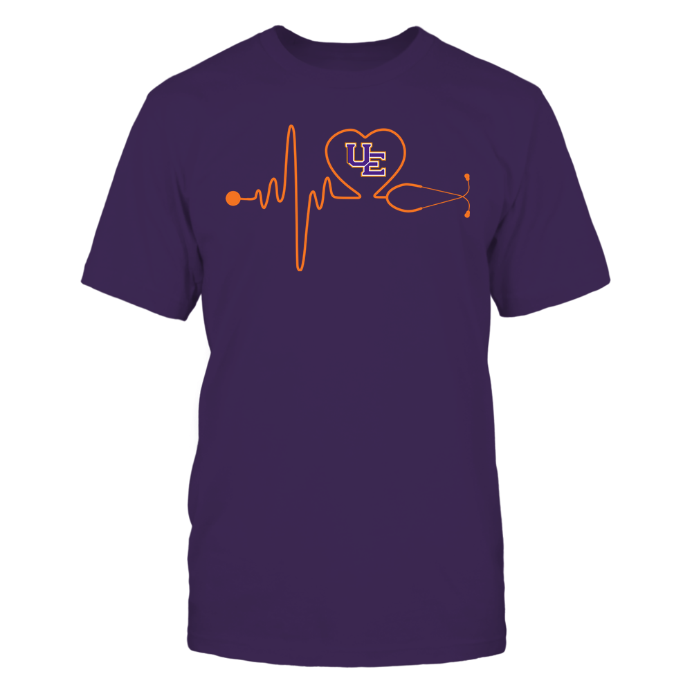 Evansville Purple Aces - Nurse - Stethoscope Heartbeat - IF13-IC13-DS37 Front picture