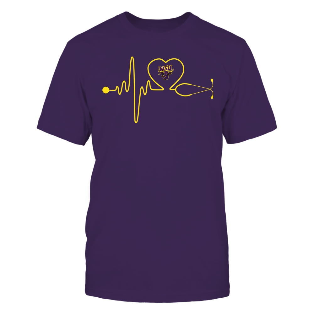 Minnesota State Mavericks - Nurse - Stethoscope Heartbeat - IF13-IC13-DS37 Front picture