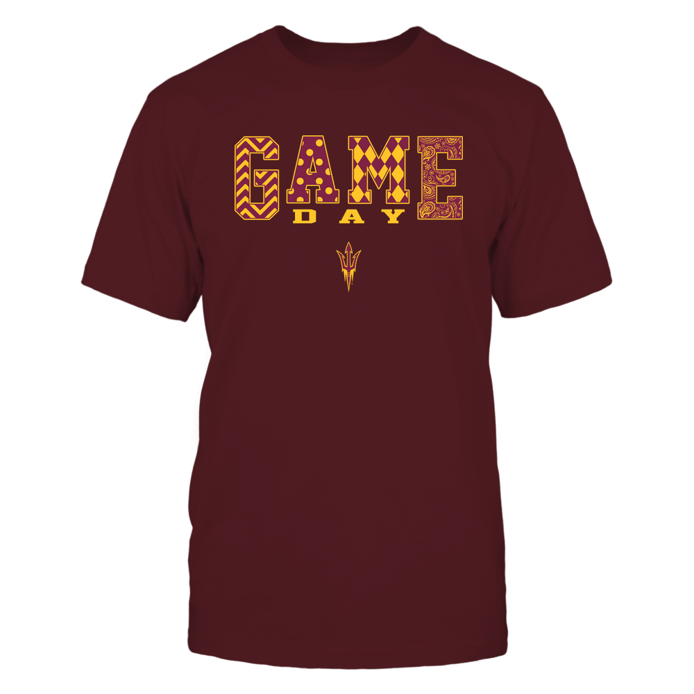 Arizona State Sun Devils - 19080610109 - Game Day Pattern - IF-IC13-DS85 Front picture